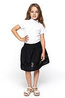 Детская черная юбка в школу 062