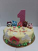 """Детский торт на заказ """"Шарики- Смешарики """", фото 1"""