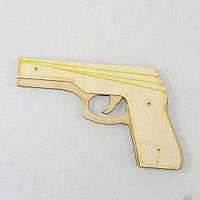 Пистолет деревянный