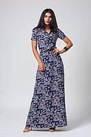 Длинное летнее платье 523-7