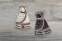 Шоколадная табличка индивидуальной формы, фото 1