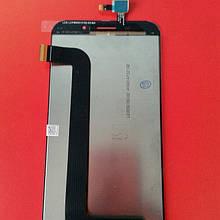 Дисплей для Asus Zenfone Max (ZC550KL) черный с тачскрином