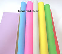 Бумага цветная, А4, двухсторонняя,16 листов