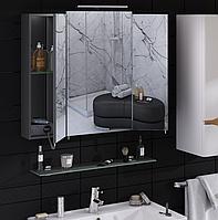 Зеркальный шкаф для ванной 100 см, без подсветки