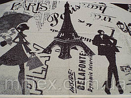 """Рушник """"Мрії про Париж"""" 80*160 (сауна) / """"Чарівна Ніч"""""""