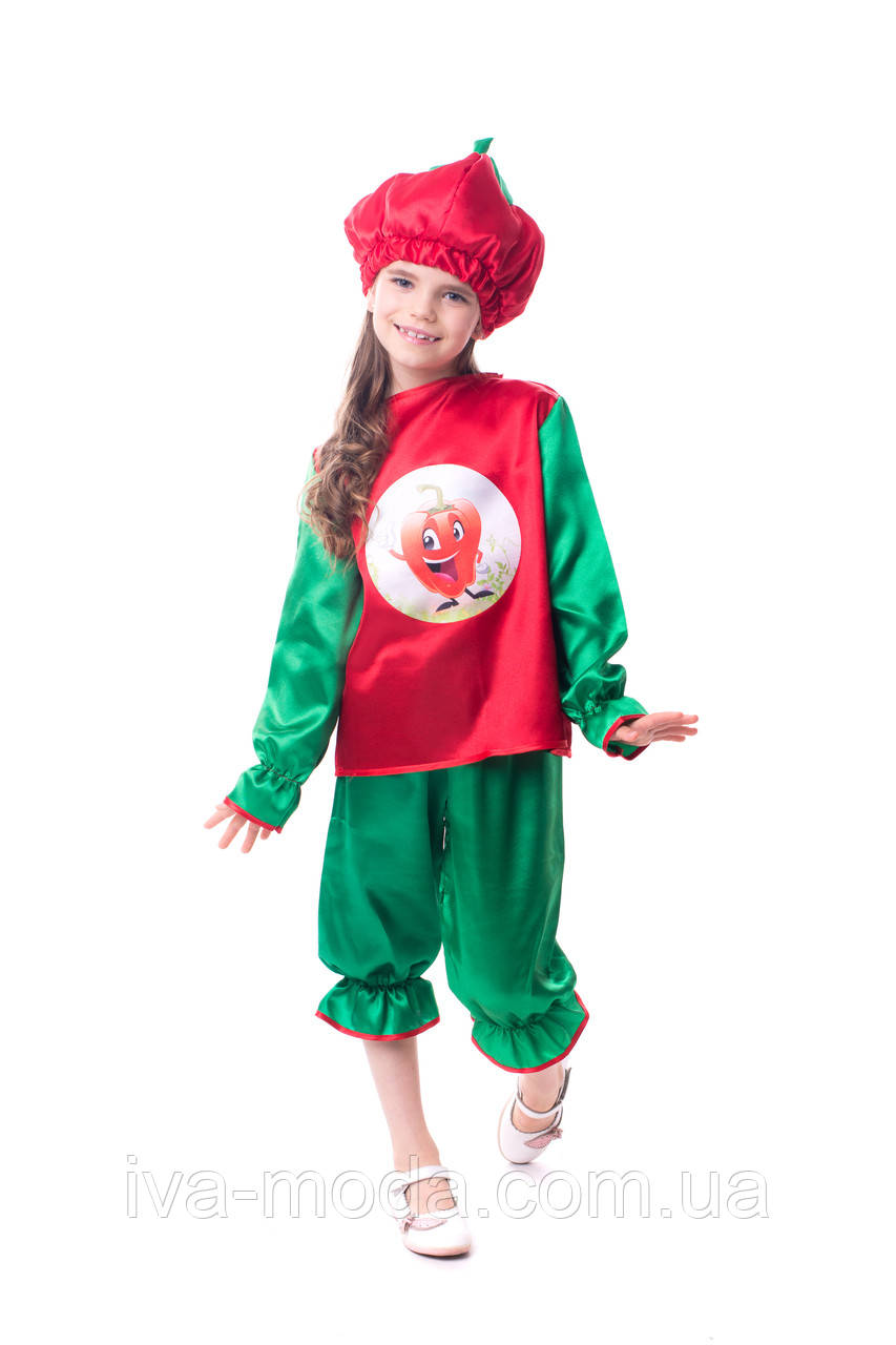 Детский карнавальный костюм сладкого перца