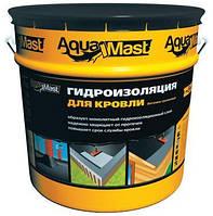Мастика AquaMast для даху 18кг бітумно-гумова ТехноНІКОЛЬ