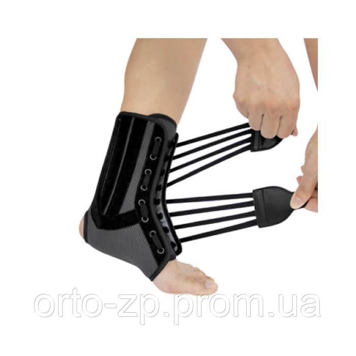 Бандаж на голеностопный сустав ребрами жесткости артрит каленного сустава
