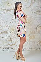 Нежное Платье Бежевое Матильда Размер 44-50 Бавовна - 38%; Поліестер - 60%; Еластан 2%;