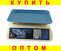 Весы торговые Domotec ACK MS 587 40kg 6v