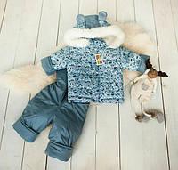 Зимние комбинезоны для новорожденных