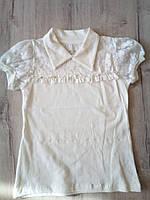 Детская блузка для девочки 11501 Турция школьная форма