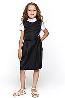 Черный сарафан для девочки в школу 072