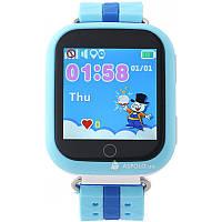Оригинальные детские  часы Smart watch Q100s (Голубой)