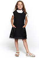 Черный сарафан для девочки 073