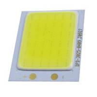 Матрица COB (без драйвера) для LED прожектора 30W (белый холодный, белый теплый)