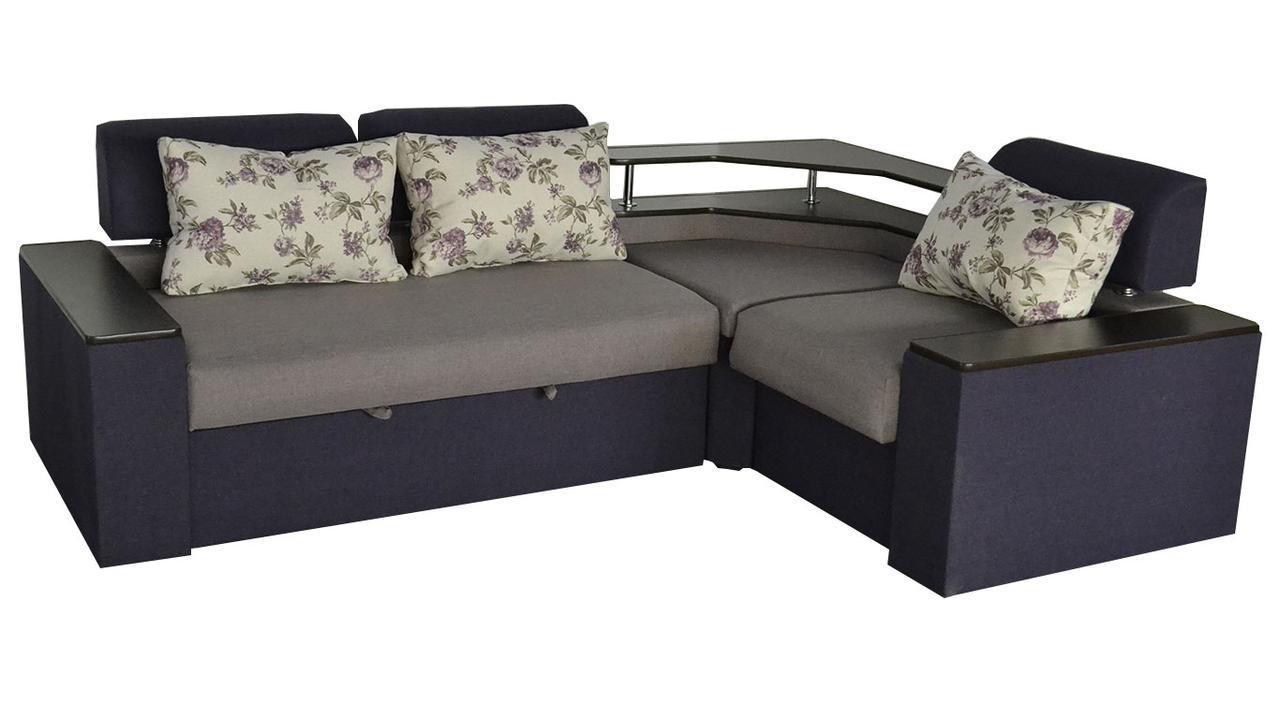 Угловой диван Асти, огромное количество вариантов расцветки