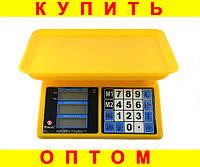 Весы торговые Domotec ACK MS 266 30kg 4v