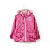 Детская куртка ветровка для девочки 100, 110, 120