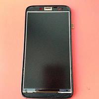 Дисплей для Lenovo A850 A850+ б/у в рамке