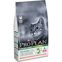 Purina Pro Plan Sterilised 1,5кг для стерилизованных котов с лососем