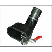 Filcar BGA-75-PM - Овальная резиновая насадка для двойной выхлопной трубы для шланга 75 мм