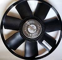 Вискомуфта вентилятора системы охлаждения с крыльчаткой  Е4TATA MOTORS