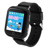 Оригинальные детские  часы Smart watch Q100s  Черный