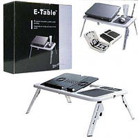 Складной столик-подставка для ноутбука с кулером ColerPad E-Table LD09 , фото 1