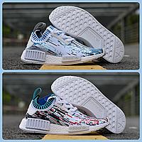 Женские кроссовки Adidas NMD R1 Primeknit Datamosh В НАЛИЧИИ! Размер 38-40!