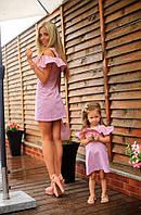 Летние платья для мамы и дочки AP-103P