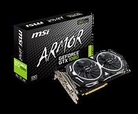 Видеокарта MSI GeForce GTX 1080 ARMOR OC 8GB GDDR5X