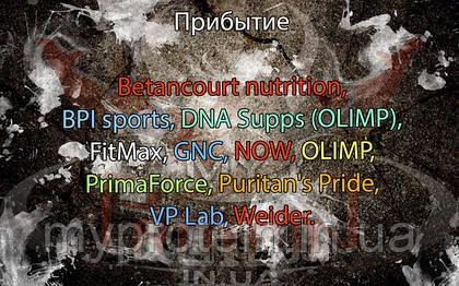 Betancourt nutrition, BPI sports, DNA Supps (OLIMP), FitMax, GNC, NOW, OLIMP, PrimaForce, Puritan's Pride, VP Lab, Weider.