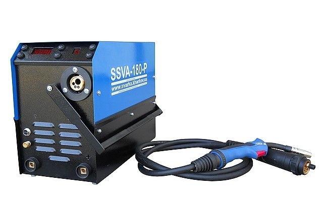 Cварочный инверторный полуавтомат SSVA-180-PТ плюс аргон - Интернет-магазин Max24 в Харькове