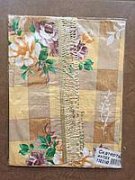 Скатерть с цветами кухонная Бахрома (ХБ, ПВХ) 110*140