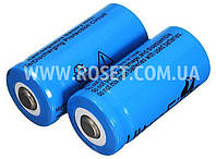 Аккумуляторная батарейка аккумулятор - Li-Ion 16340 (CR123A) 3.7V 5800mAh