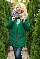 Зимняя куртка женская с мехом очень теплая