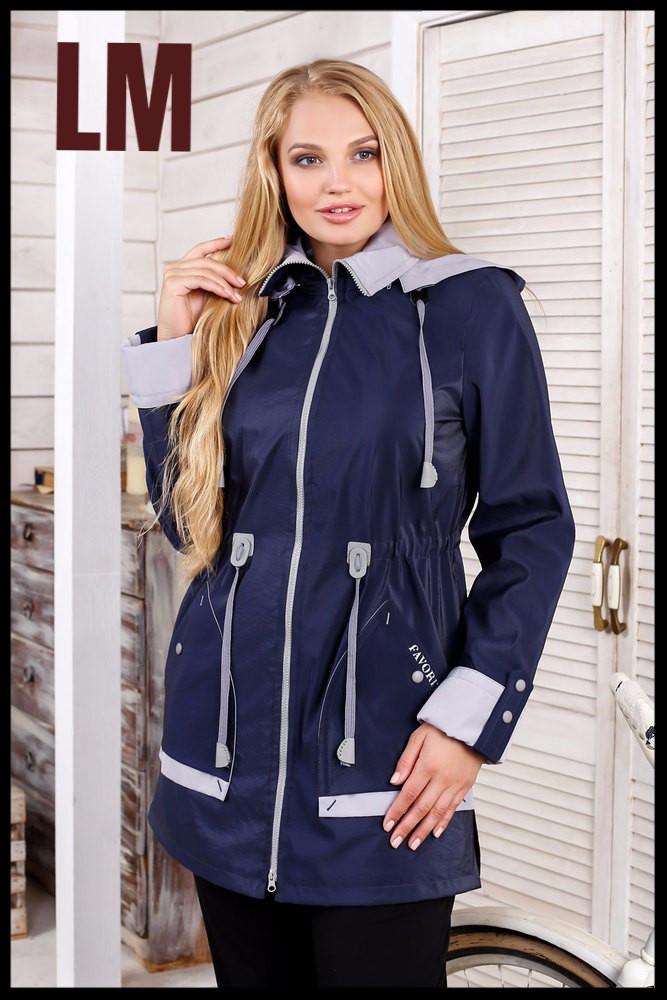 46b321965da Модная женская куртка батал