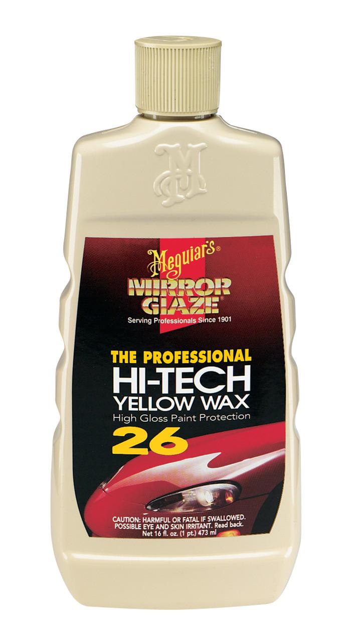 Натуральный желтый воск - Meguiar's Professional Hi-Tech Yellow Wax 473 мл. (M2616)