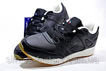 Мужские кроссовки в стиле Reebok Hexalite, кожаные (Black), фото 3
