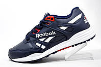 Мужские кроссовки Reebok Hexalite, кожа (Dark Blue)