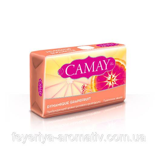 Туалетное мыло Camay Dynamique Grapefruit с грейпфрутом 85г. (Египет)