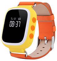 Детские часы-телефон Smart Baby Watch Q80 orange