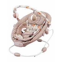 Кресло-шезлонг Baby Mix BR245-002-L latte ALEXIS бежевый