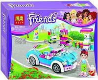 """Конструктор Bela Friends 10544 """"Кабриолет Мии"""" (аналог LEGO Friends), 199 дет."""