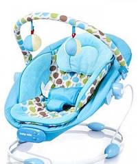 Кресло-шезлонг ALEXIS NIEBIESKI LCP-BR245-007 BABY MIX