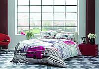 Комплект постельного белья  Tivolyo Home  евро размера London eye, фото 1