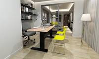 501-11-1B 156: Офисный стол Conset для работы сидя-стоя с электроприводом Bosch грузоподъемностью 150 кг
