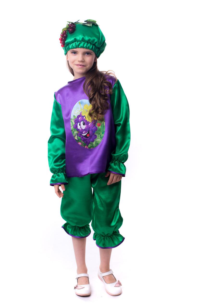 Детский карнавальный костюм винограда