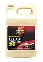 Meguiar's M26 Hi-Tech Yellow Wax Защитный воск №3, 3,78 л